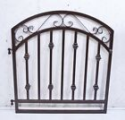 Wrought Iron Delaware Entry Gate - Metal Gates for Fencing