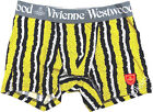 Vivienne Westwood Men Japan Underwear Boxer Stripes Python w/Orb Patch-Size M/L