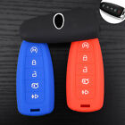 5 Button Silicone Remote Smart Key Cover Case For Ford Explorer Lincoln MKS MKT
