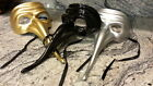 Venetian Plague Doctor Beak Mask Mardi Gras Masquerade Party Carnival Costume