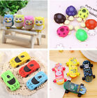 2PCS Creative Cartoon Erasers Pencil Erasers Cute Kids Stationery Gift Toy