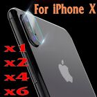For iphone ( X) Rear Camera Lens 7.5H Tempered Glass Protector Guard Film Cover