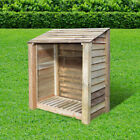 Greetham 4ft Outdoor Wooden Log Store ***Clearance Stock*** - UK Hand Made
