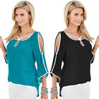 Fashion Women's Summer Loose Tops Ladies Short Sleeve Blouse Casual T-Shirts US