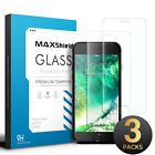 3x iPhone 8/7/6,6/7/8 Plus GLASS SCREEN PROTECTOR, MAXSHIELD PROTECTOR FOR APPLE