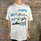 Billabong Quadrant Short Sleeve T-Shirt in White Size L