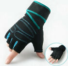 Weight lifting Gym Gloves Training Fitness Wrist Workout Exercise Sports USStock