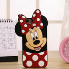 Cute 3D Cartoon Soft Silicone Rubber Gel TPU Case Back Cover For Samsung Phones