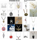 Superhero Jewellery Comic Book Superman Wonder Women Groot Necklace Earrings