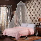 Lace Canopy Bed Curtain Dome Fly Midges Insect Cot Stopping Mosquito Net Set New image