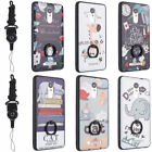 Cartoon Pattern Ultra Thin Shockproof Case Stand Cover For Xiaomi Redmi Phones