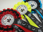"Halloween Dog Show Rosettes - 1st, 2nd, 3rd, ""Haunted House"" Rosettes"