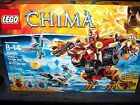 Lego Legend Of Chima 70225 New In Box 415 Pcs Bladvic's Rumble Bear