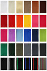 Belt strap 4 or 12 Meter, 5 different widths, 1,4 mm thick in 25 Colors