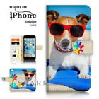 For iPhone 6 6S Plus  Case Cover A40260 Beach Dog