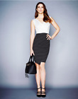 New Lipsy Monochrome Colour Block 2 in ! Pencil Dress UK 14 & 16