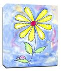 Yellow Daisy Flowers, Prints or Canvas Wall Art Decor, Kids Bedroom Baby Nursery