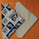 OLD DOMINION UNIVERSITY MONARCHS ODU HOMEMADE 2 SIDED DOG SCARF (PICK SIZE)