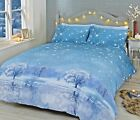 Rapport Starry Nights Christmas Duvet Cover Bedding Set Colour Ice