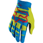 Fox Racing Airline Marz Yellow Motocross Gloves BMX Downhill Enduro - SALES
