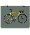 Chris Froome Pinarelo dogma f8 f10 bicycle prints illustration poster tour g