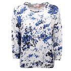 C8630 felpa donna ALTEA blu sweatshirt cotton blue woman