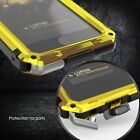 Waterproof Shockproof LUPHIE Aluminum Metal Case Cover for iPhone 6 6S 7 8 Plus+