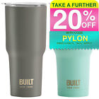 Built NY Vacuum Insulated Tumbler/Travel Mug/Cup/Stainless Steel/Cold/Hot/Drink