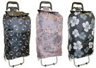 Lightweight Folding Shopping Trolley Bags Shopper with Wheels Shopping Trolly