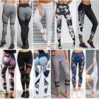 Femmes Sport Gym Yoga Fitness Leggings pantalon Sportswear en cours dexcution