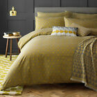 Niki Jones Concentric Chartreuse Duvet Quilt Cover Bedding Pillowcase