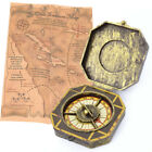 Fancy Dress Indiana Treasure Map and Golden Compass Explorer Set Game Pirates