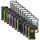 Hybrid Shockproof Hard Defender Slim Armor Case For Apple Ipod Touch 5th / 6th