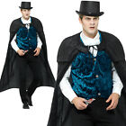 Deluxe Victorian Jack The Ripper Costume Halloween Adult Mens Fancy Dress Outfit