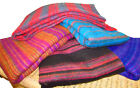 Woven Acrylic Wool Shawl Blanket Wrap Cashmelon Indian Very Large Winter Warm