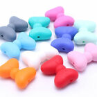 Bowknot Silicone Teething Beads Baby Chewable Teether Necklace Jewelry Making