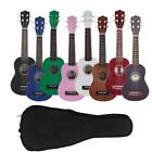 New 8 Colors 4 Strings Rosewood Fingerboard Basswood Soprano Ukulele with Bag for sale  Shipping to Canada