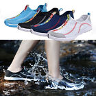 Women Mesh Water Shoes Rubber Sole Breathable Comfy for Beach Running Walk