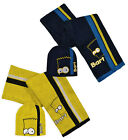 Childrens Bart Simpson The Simpsons Scarf,Gloves & Hat Set