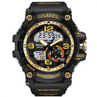 SMAEL Military Men's Analog & LED Digital Alarm Stopwatch Waterproof Wrist Watch image