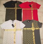 GUCCI T-SHIRTS FOR MEN CREW NECK 4 COLORS BRAND NEW FREE SHIPPING