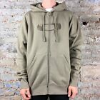 Oakley Sid Hoody Zip Up Sweatshirt Hoodie Brand New in New Khaki, Size M