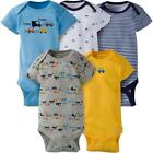 Gerber 5 Pack Assorted Pattern Bodysuits