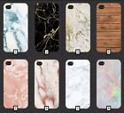Blank Marble / Wood Phone Cover Wooden Style Design Cool 5 SE 6 7 S6 S7 S8 + m2a