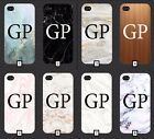 Marble Phone Case With Initials On It 5 SE 6 7 S6 S7 S8 + m1a