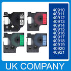 D1 tape all colours 9mmx7m for DYMO label printer 40910 40913 40918 40921