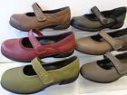 Ladies Easy B Leather Casual Shoes Buxton