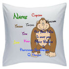 "Personalised White Cushions 18"" - Disney - Tarzan"