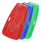 "Slippery Racer Downhill Sprinter Snow Sled 35"" Plastic Toboggan"