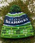 NFL Hat With Lights Football Team Man Cave Logo Official Super Bowl Winter Fall